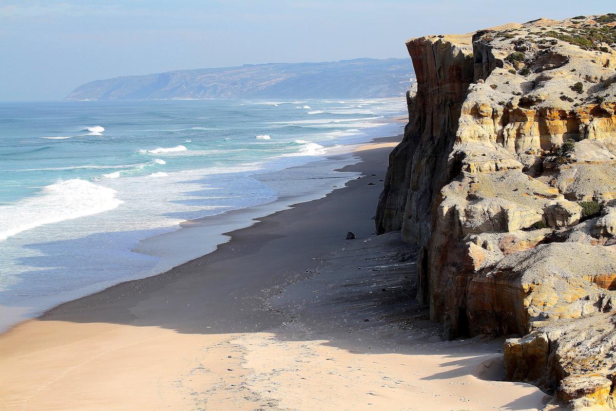 Playa rio cortiço Obidos portugal