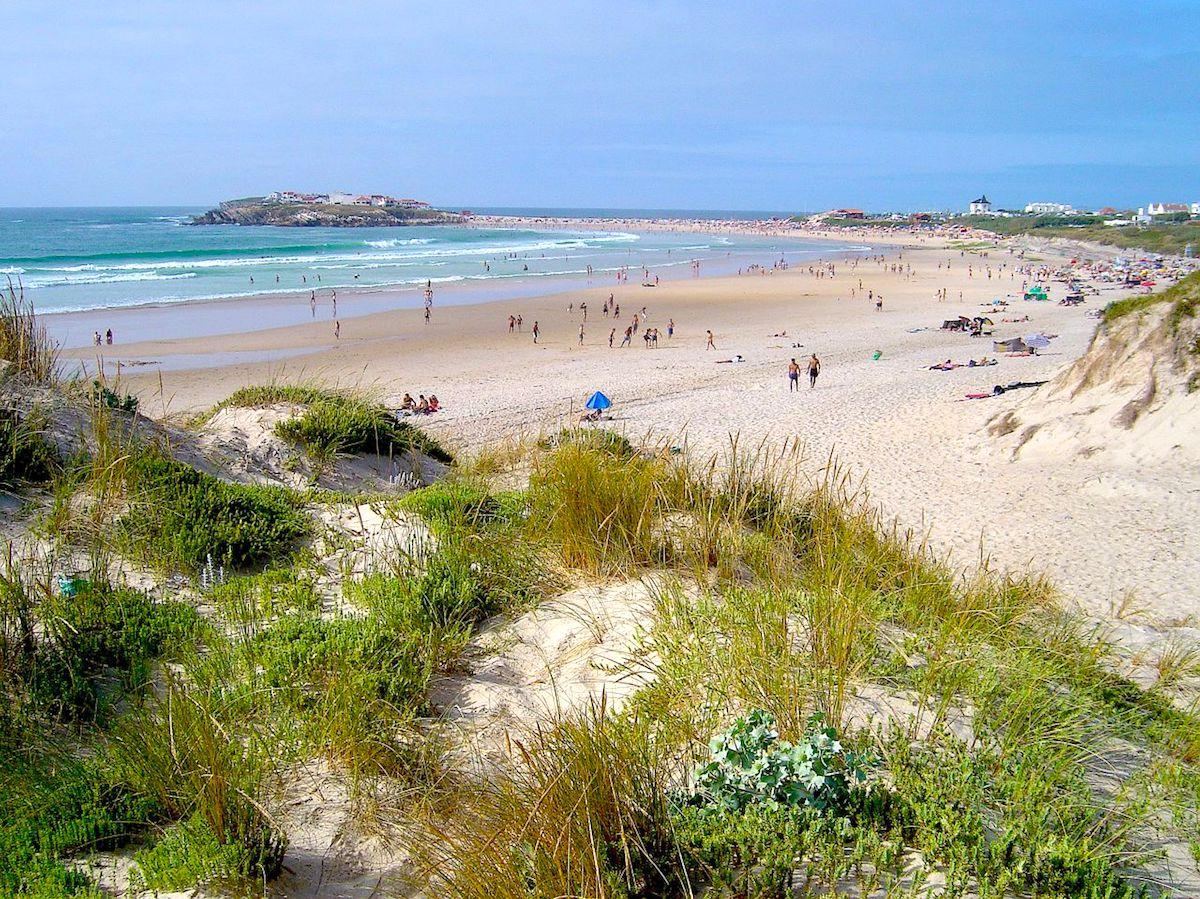 Playa do baleal campismo peniche portugal