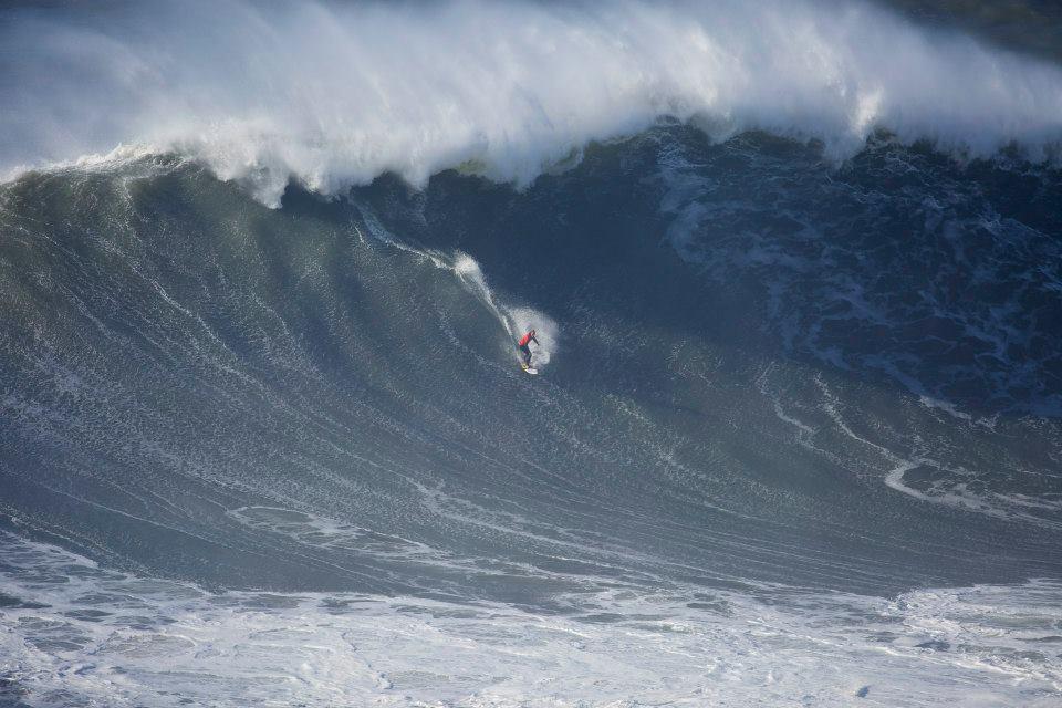 surf playa norte nazare