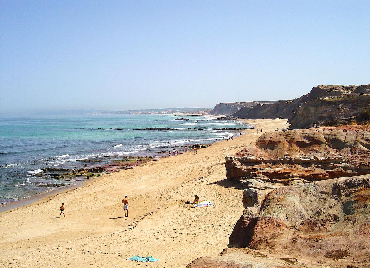 Playa do lagide ferrel peniche portugal