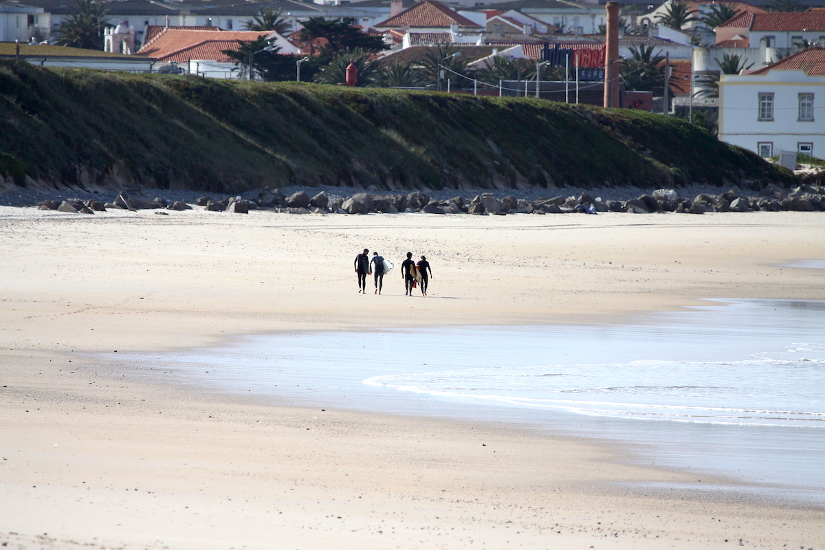 Playa peniche de cima peniche portugal