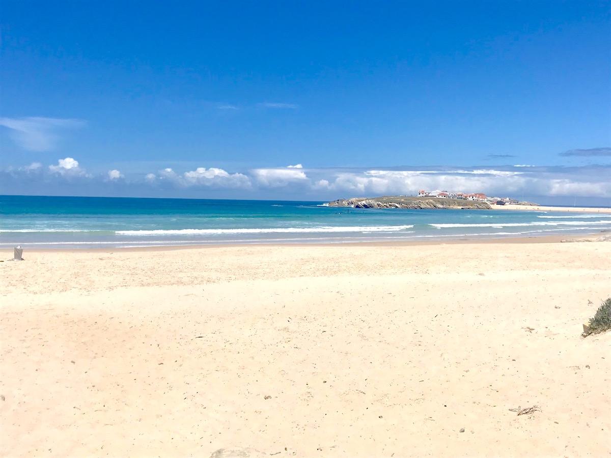 Paseos Playa Baleal Campismo Peniche