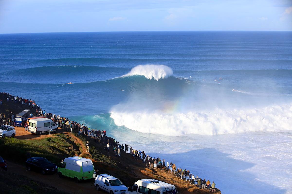 Temporada olas gigantes Nazaré 2019 2