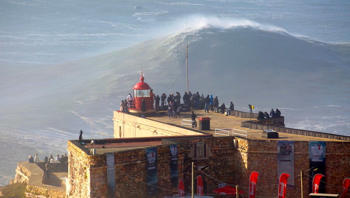 Cuando ver las olas grandes de Nazaré 2019