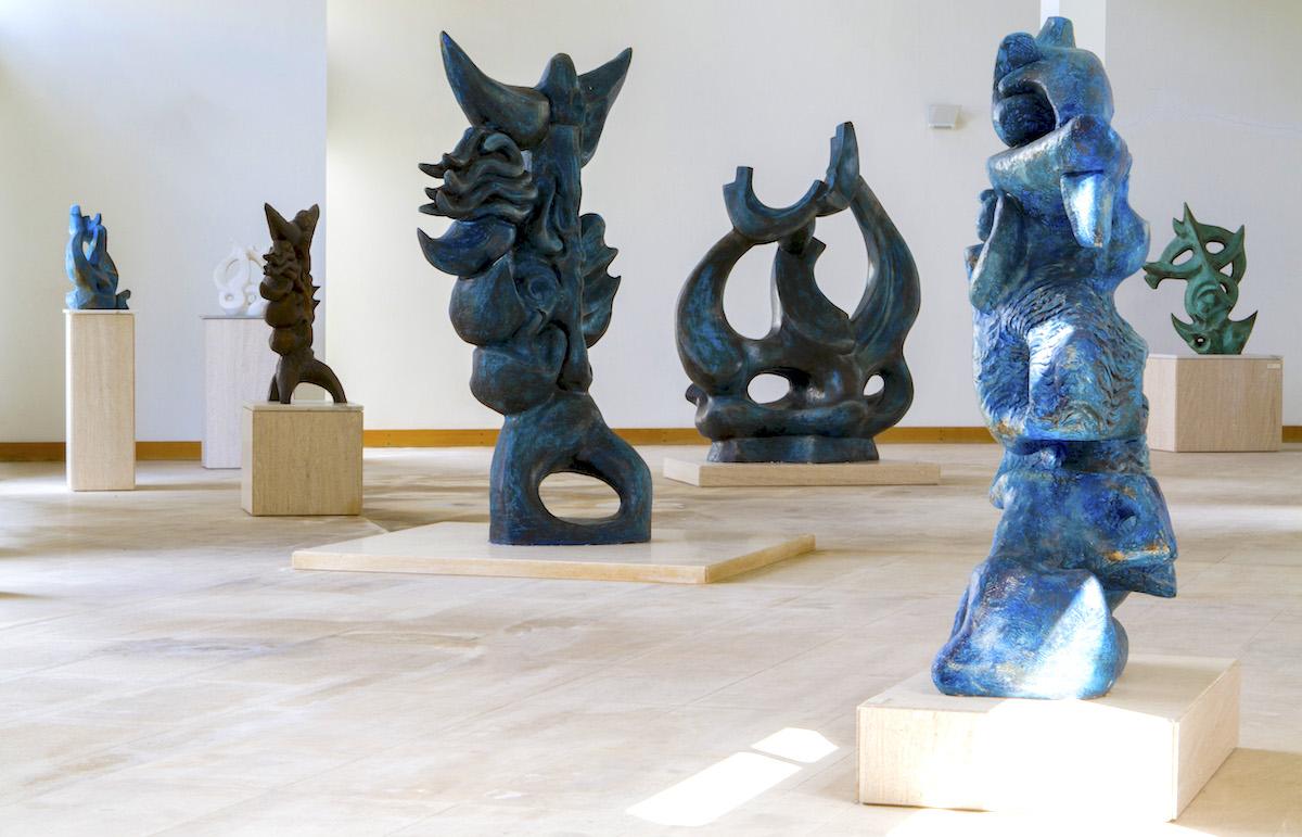 Obras bronce Museu João Fragoso Caldas da Rainha