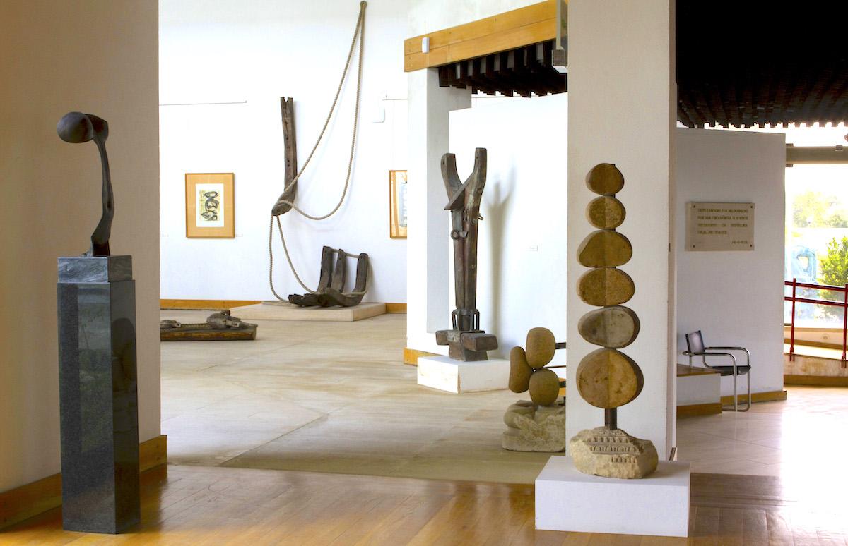 Obras en madera Museu João Fragoso Caldas da Rainha