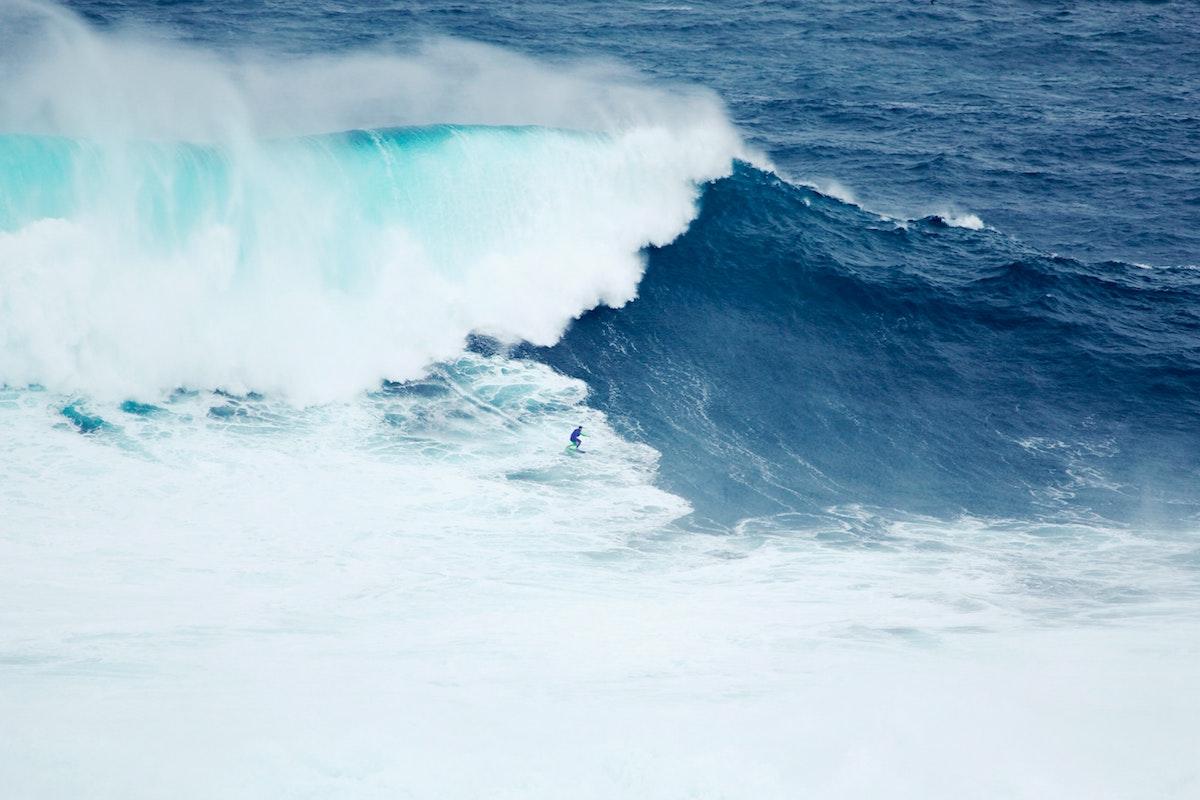 Portada Nazaré Campeonato mundial olas grandes